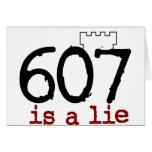 ¡607 es una mentira! tarjeton