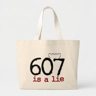 607 is a lie! tote bag