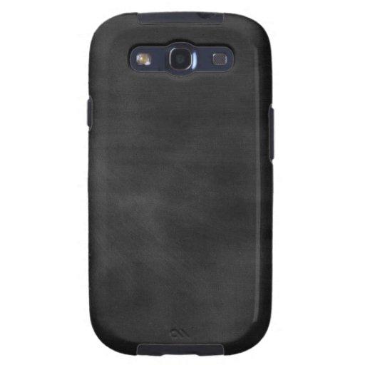 6089 chalkboard BLACK CHALK BOARD TEXTURE GRUNGE T Galaxy S3 Covers