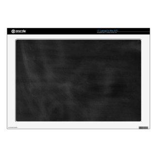 6089 chalkboard BLACK CHALK BOARD TEXTURE GRUNGE T Laptop Skin