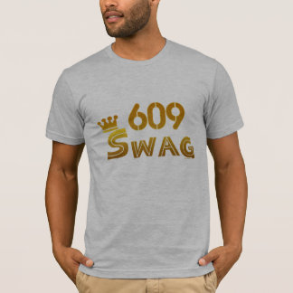 609 New Jersey Swag T-Shirt