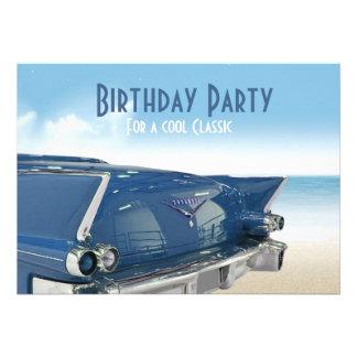 60 a invitación de la fiesta de cumpleaños del coc