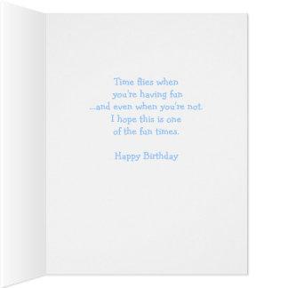 60.a tarjeta de cumpleaños grande