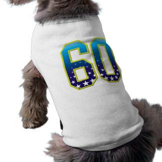 60 Age Star Pet Tshirt
