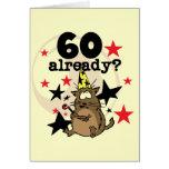 60 Already Birthday Card