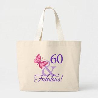 60 And Fabulous Birthday Bag