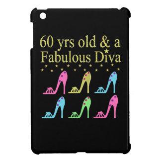 60 AND FABULOUS SHOE QUEEN iPad MINI COVERS