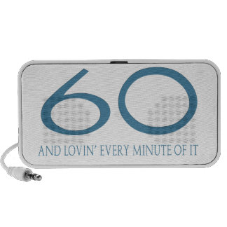 60 and Lovin' Every Minute of It Mp3 Speaker