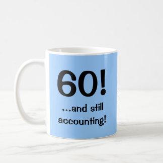 60 and still accounting Triple-sided mug