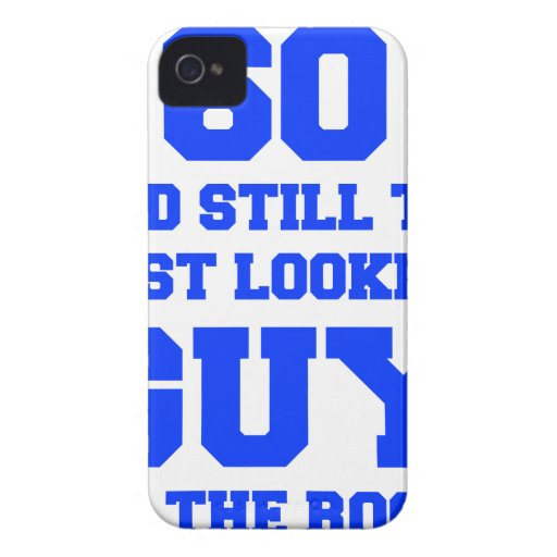 60 and-still-best-looking-guy-FRESH-BLUE.png iPhone 4 Case-Mate Coberturas