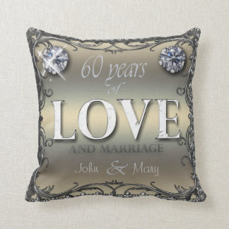 60 años de amor almohada
