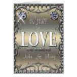 60 años de amor felicitación