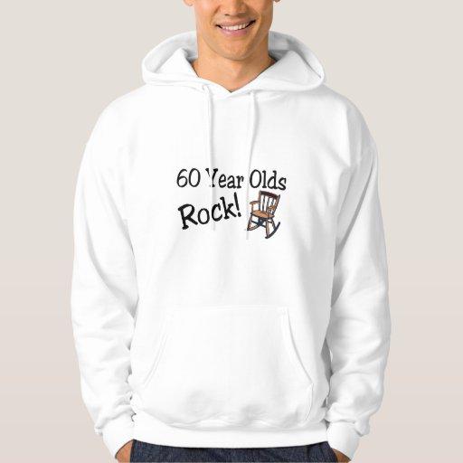 60 años de la roca (mecedora) sudadera pullover