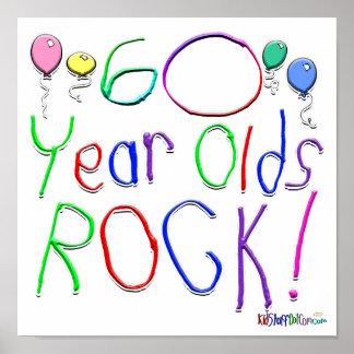 ¡60 años de la roca! posters