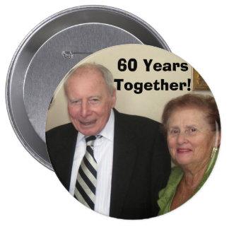 ¡60 años junto pin