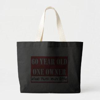 60 años, un dueño - las piezas de las necesidades, bolsas