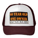 60 años, un dueño - las piezas de las necesidades, gorras de camionero