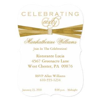 60.as invitaciones elegantes de la fiesta de comunicados personalizados