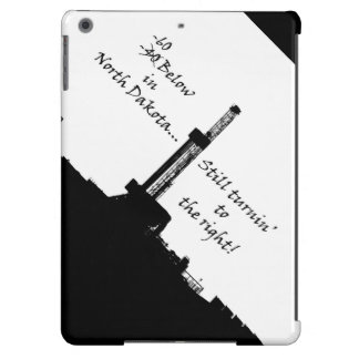 -60 Below Oilfield (Black on White) Case For iPad Air