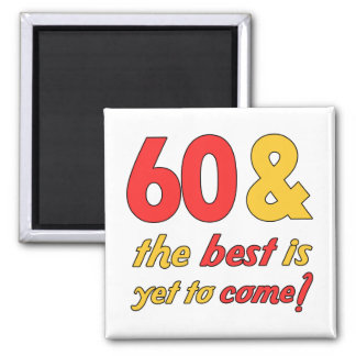 60 Best Birthday Gifts 2 Inch Square Magnet
