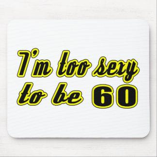 60 birthday designs mousepads