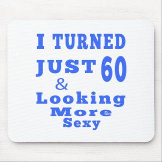 60 birthday designs mouse pad