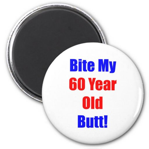 60 Bite My Butt Magnets