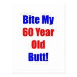 60 Bite My Butt Postcard