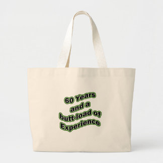60 butt-load tote bags