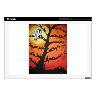 60 Cats In The Love Tree Laptop Decal