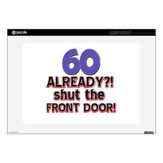 60 cierre ya la puerta principal skins para 38,1cm portátiles