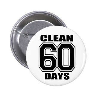 60 días limpian negro pin redondo 5 cm