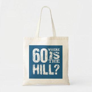 60 donde cumpleaños divertido BLUE01 de la colina