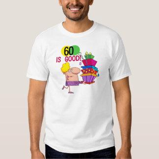 60 es buenos camisetas y regalos del cumpleaños camisas