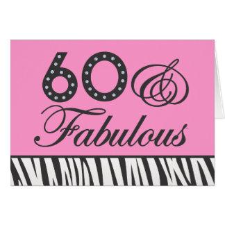 60 & Fabulous! Card