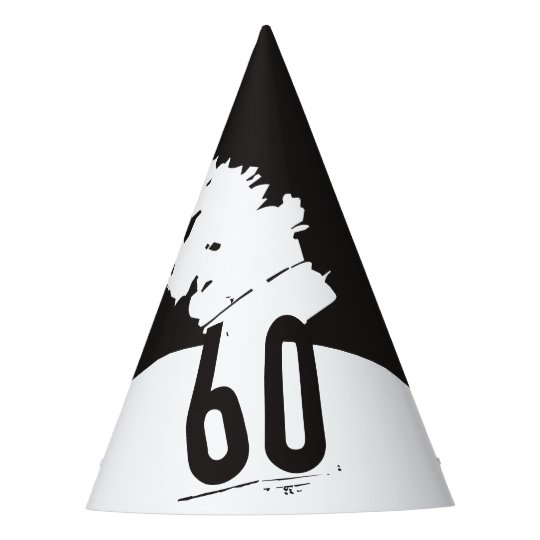 60 For A 60th Birthday Party Hat