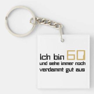 60 Geburtstag Schlüsselanhängern