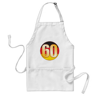 60 GERMANY Gold Adult Apron