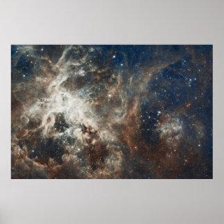 60 impresión grande de la nebulosa de la nube de posters
