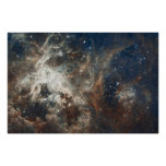 """60"""" impresión grande de la nebulosa de la nube de  póster"""