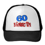60 is 6 perfect 10's (BLUE) Trucker Hat