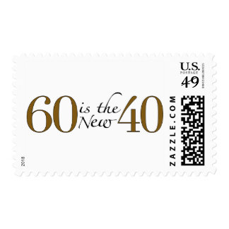 60 Is The New 40 Postage