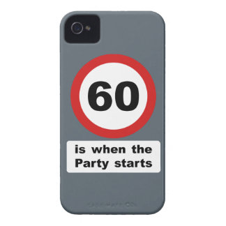 60 is when the Party Starts iPhone 4 Case-Mate Case