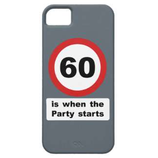 60 is when the Party Starts iPhone SE/5/5s Case