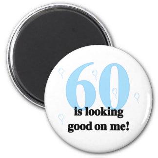 60 Looking Good on Me Fridge Magnet