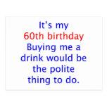 60 me compran una bebida postales