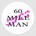 60 mile man 8 feet stickers