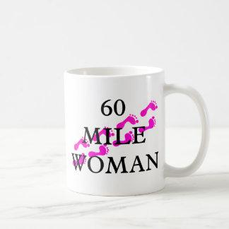 60 mile woman 8 feet coffee mugs