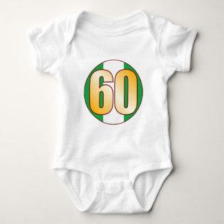 60 NIGERIA Gold Baby Bodysuit