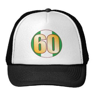 60 NIGERIA Gold Trucker Hat